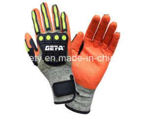 Anti-Vibration Work Glove (TPR9009) pictures & photos