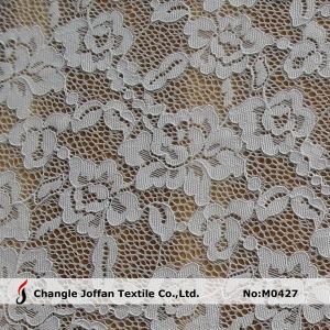 White Cord Lace Stretch Lace Fabric for Underwear (M0427) pictures & photos