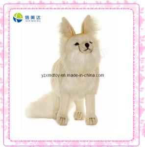 White Beautiful Fox Soft Plush Toys pictures & photos