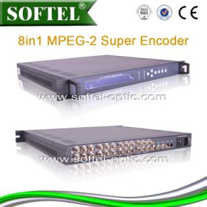 8 Cvbs and 8 Audio Input MPEG-2 Encoder pictures & photos