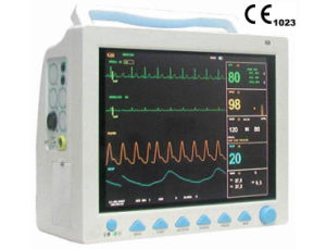 Medical Equipment Bedside Monitor 6 Parameters Multi-Paramer Patient Monitor pictures & photos