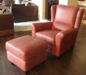 Leather Sofa (HD-165)