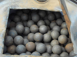 Forged Grinding Ball (Dia90mm) , 75mncr, HRC60-65 pictures & photos