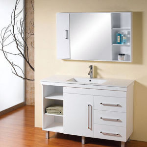 White Painted Bathroom Vanity