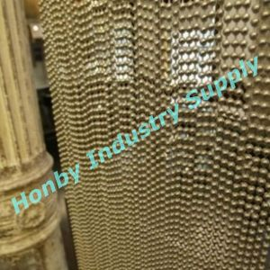 Decorative 8mm Antique Bronze Metal Bead Chain Curtain pictures & photos