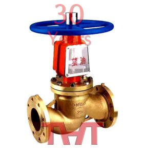 Brass Flange Connection Oxygen Globe Valve pictures & photos