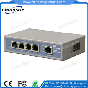 5 Ports 48V Power Poe Switch for Hikvision/Dahua IP Cameras (POE0410-2) pictures & photos