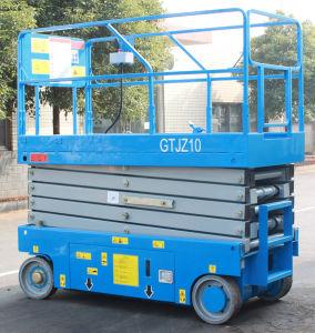 10m Electric Scissor Lift (GTJZ10) pictures & photos