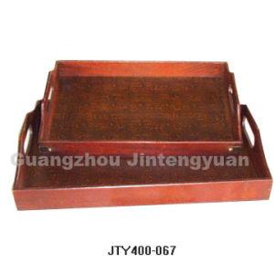 Antique Wooden Tray (JTY4001-067)