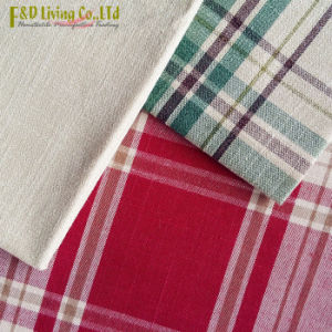 Gingahm Cotton Linen Sofa Fabric (FD2011)