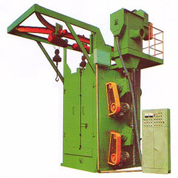 Overhead Shot Blasting Machine for Cleaning Metal Part pictures & photos