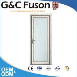 Low-E Glass Double Pane Aluminum Casement Doors pictures & photos