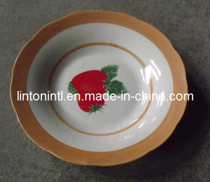 Plate-Soup Plate-Ceramic Soup Plate