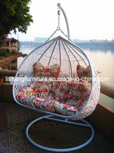 Double Seater Outdoor Furniture Hanging Swing Chair D-1003