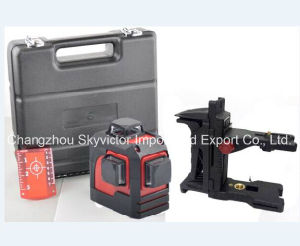 360-Degree 3-Plane Leveling and Alignment Laser Level (SW-93T) pictures & photos