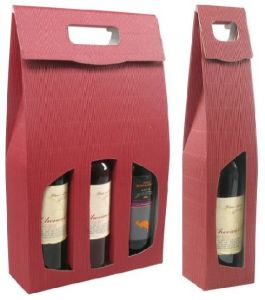 2016 High Quality Two Bottle Paper Wine Box (YY-W0103) pictures & photos