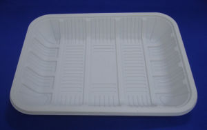 Biodegradable Tray Corn Starch Disposable Tray pictures & photos