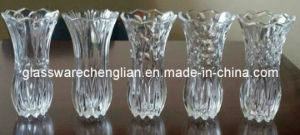 Promotional Machine-Made Glass Vases for Decoration (V-HG11) pictures & photos