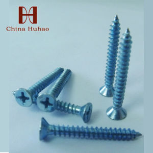 Screw/Csk Head Galvanized Sheet Metal Screw Self Tapping Screw pictures & photos