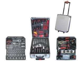 186PCS Swiss Kraft Germany Design Hand Tool Set in Aluminium Trolley Case