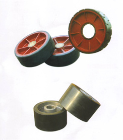 Solid Wheel Made With Polyurethane