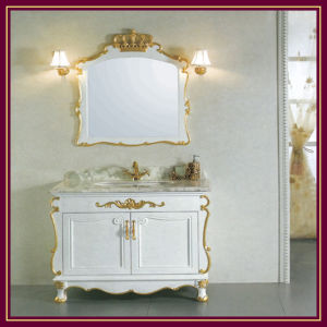 Wood Bathroom Furniture Cabinet (K8001)