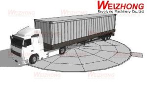 Truck Turntable pictures & photos