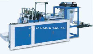 Super Speed One Line Plastic T-Shirt Bag Making Machine pictures & photos