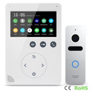 Memory Interphone Doorbell Home Security 4.3 Inches Intercom Video Doorphone pictures & photos
