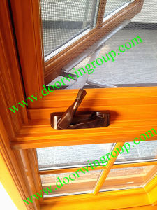 American Style Aluminium Wood Window, Latest Modern Wood-Alu Window, Double/Triple Glazing Glass Window, Standard American Tilt & Turn Window pictures & photos