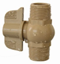 Male and Male Thread Ball Valve pictures & photos