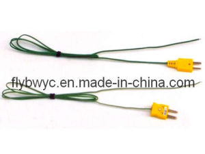 K Type Thermocouple, Standard Flat Shape Plug Thermocouple (TP-01) pictures & photos