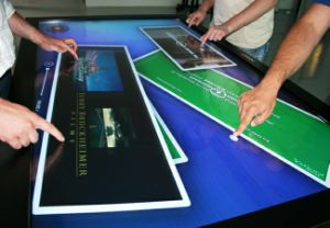 "52"" LCD Touch Screen Panel for Interactive Table-40 Touch Points"
