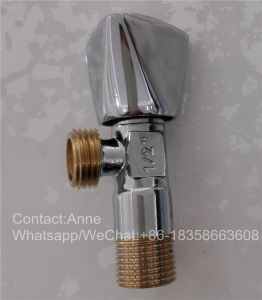 Factory Price Sanitary Ware Brass Toile Water Angle Valve (YD-5004) pictures & photos