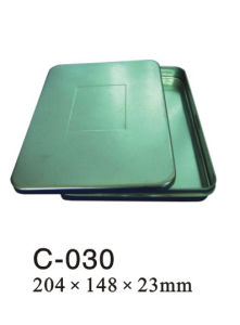 Tin DVD Case (C-030)