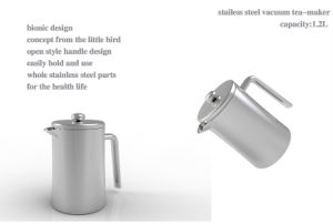 Stainless Steel Coffee/Tea Maker Sdp-1200A pictures & photos