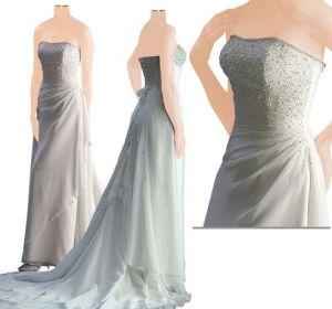 Evening Dress (B009A) pictures & photos