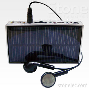 Portable Solar Charger with MP3 Player (CHS09)
