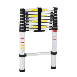 2.6m Aluminum Telescopic Articulated Ladder pictures & photos
