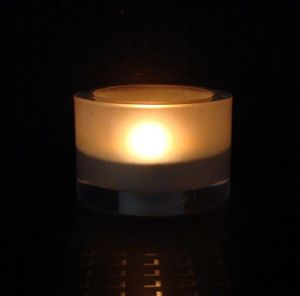 Glass Candle Holder (81612)
