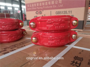 88.9 Rigid Coupling, FM and UL Approved, Ductile Cast Iron Grooved Coupling and Fitting pictures & photos
