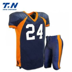 Custom Sublimation Print Soccer Jersey American Football Wear pictures & photos
