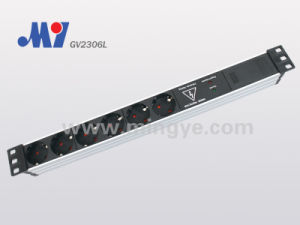 Uninflammable PP Module for PDU Socket (GV2306L)
