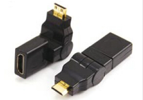 360 Degree Micro D Plug to a Female Swing HDMI Adapter, pictures & photos