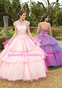 Sweetheart Quinceanera Gown (QED16)