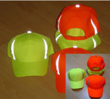 Reflective Baseball Caps with Hi Viz Reflective Tape pictures & photos