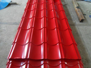 Galvanized Corrugated Plate /Prepainted Al-Zn Coating Corrugated Steel Metal pictures & photos