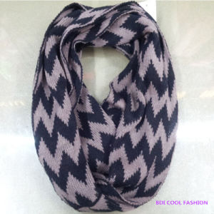 2014 Ladies Winter Fashion Acrylic Knitted Scarf pictures & photos