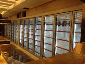High Quality Walk in Display Glass Door Freezer pictures & photos