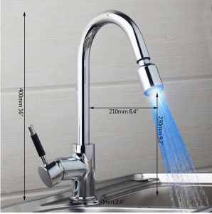 China Factory Direct Supply Brass Kitchen Sink Mixer Tap pictures & photos